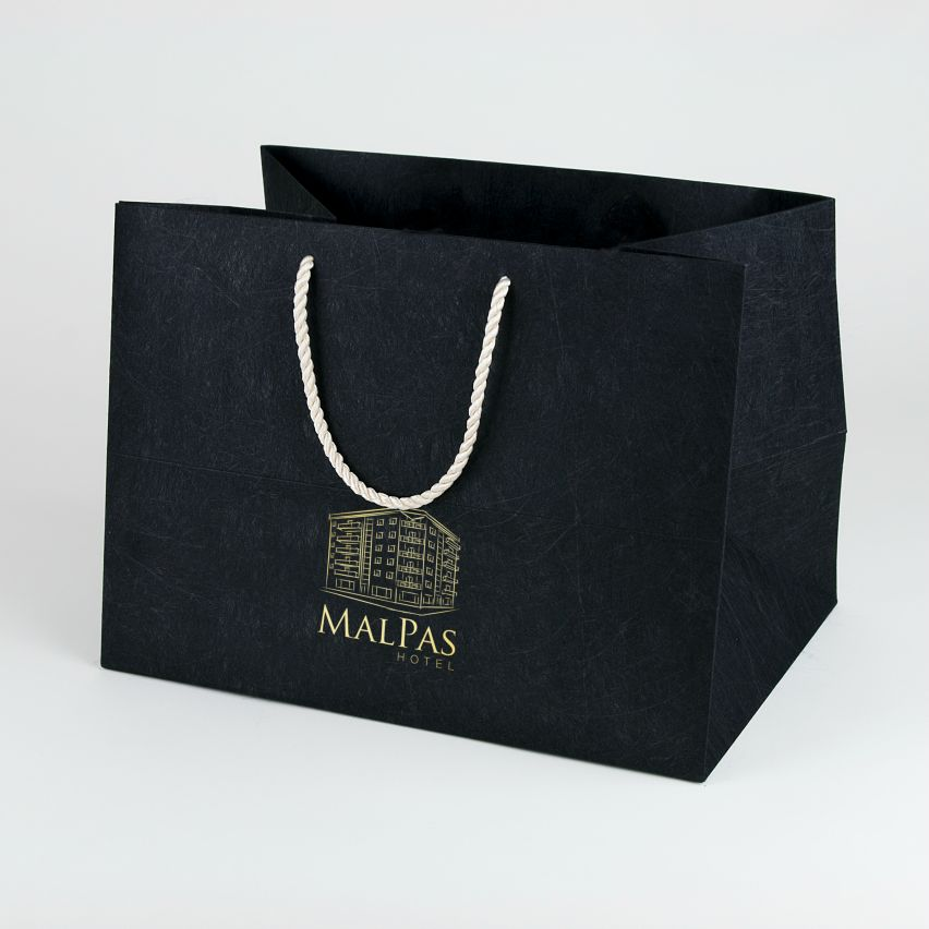 Luxury Bag - Textured Card