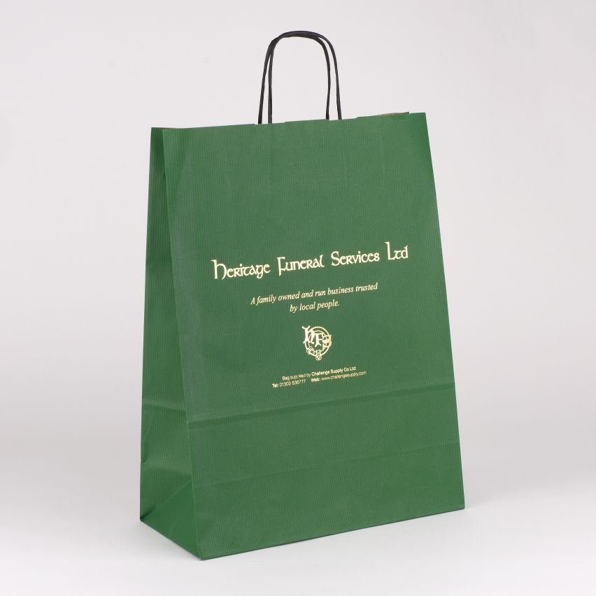 Presentation Bags - Printed Standard Twist Handle