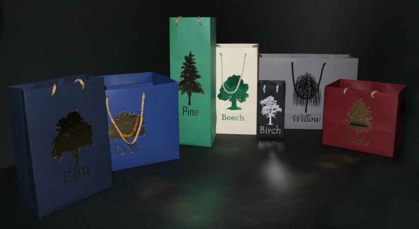Presentation Bags - Printed Luxury Rope Handle (Stock Sizes)
