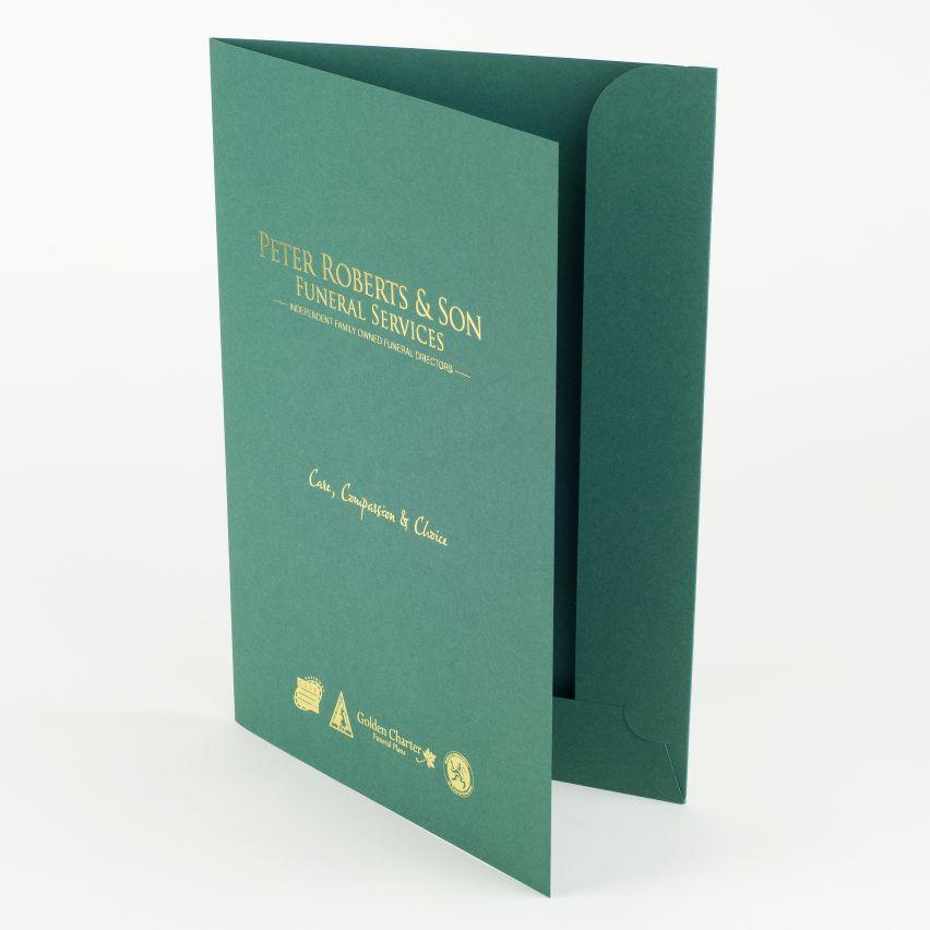 Presentation folders custom